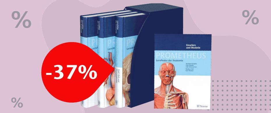Prometheus - LernAtlas der Anatomie - Paket 2017